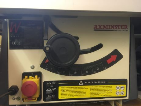 Axminster Table Saw-6
